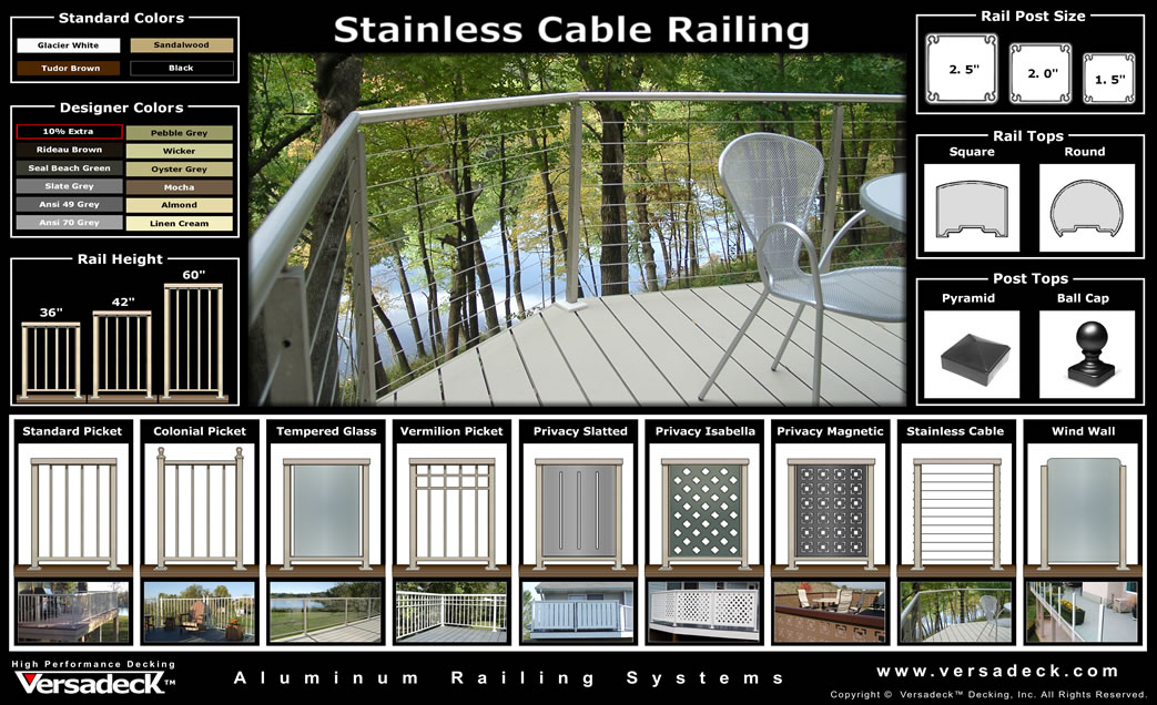 Incroyable Stainless Steel Cable Railing
