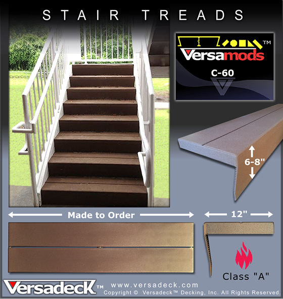 Modular Stairs by Versadeck Decking