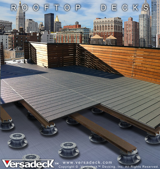 Commercial Decking By Versadeck Thick Fire Safe Deck
