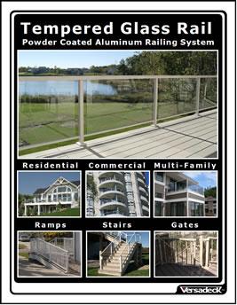 Versadeck Aluminum Railing Systems Maintenance Free Deck
